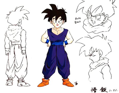 Comment Dessiner Des Dragon Ball Z
